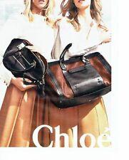 PUBLICITE ADVERTISING 027  2012   les sacs à main Chloé