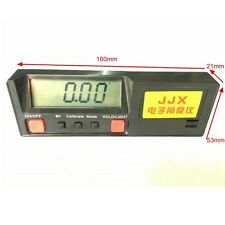Electronic Angle Level Gauge Digital Measuring Instrument 360Degree Inclinometer