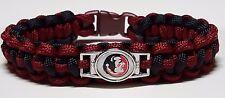 Florida State Seminoles; FSU Handmade Paracord Bracelet or Lanyard or Key Chain
