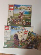 Lego Kingdoms Instructions lego 7189 And  6918