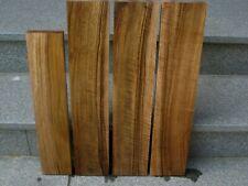 Europäischer Nussbaum Bretter 4 Stück Reste