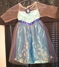 Disney Frozen Elsa Princess Halloween Costume Size Child's Small, Good Condition