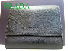 PRADA Leather Bifold Wallets for Women
