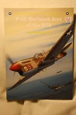 P-40 Warhawk Aces of the MTO Osprey Publishing Aircraft Book 43 Like New