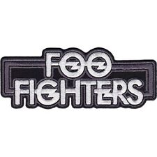 Foo Fighters Logo - Embroidered Patch - Brand New - Music Band 4353