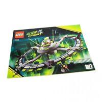 1x Lego Bauanleitung Heft 2 A4 Weltraum Alien Conquest Mutterschiff 7065