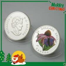 2013 Canada $20 Purple Coneflower & Eastern Tailed Butterfly