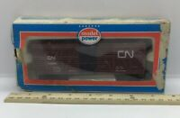Model Power Cattle Stock Car Canadian National CN Rd #81000 Red Original Box