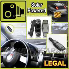 100% legal M. mains libres SPY + Energie solaire GPS Speed Camera Detector Warning