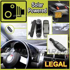 100% legale dell' onorevole Vivavoce SPY Solar Powered GPS velocità su strada Fotocamera Rilevatore di allarme