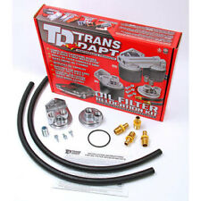 Trans Dapt 1122 Single Oil Filter Relocation Kit Small Block Chevy V8