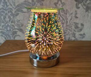 Aroma Lamp Wax Tart Wax Melt Oil Warmer Gift 3D Fireworks