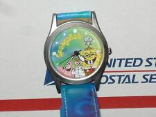 "SPONGEBOB and Friends,Rare!!""2002 VIOCOM""Unique MENS WATCH,1164 (NEW BATTERY)"