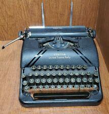 "Vintage RARE Smith Corona STERLING ""United States Navy"" Typewriter"