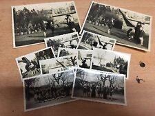 lot de 10 photo ancienne scouts scoutisme camps de Meaux Par E Delettre