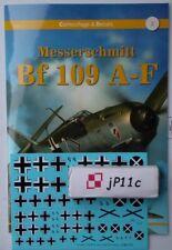 Messerschmitt Bf 109 A-F - Camouflage & Decals - Kagero EN