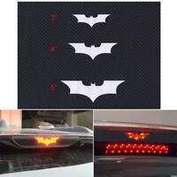Vinyl Adhesive Stop Brake Car Batman Decal Tail Light Sticker 3D Carbon Fiber