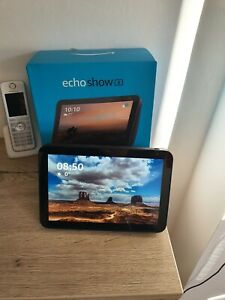 Amazon Echo Show 8 Display, OVP, Anleitung