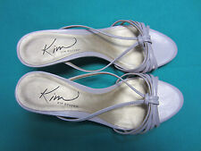 """New Kim Rogers Chelsea Womens Size 6.5 M 2-1/4"""" Heels Shoes Sandals dress Casual"""