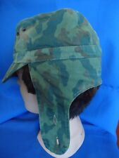 RUSSIA RUSSIAN CAMOUFLAGE CAMO MILITARY CAP USED
