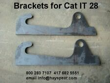 Cat IT 28 Loader Bracket Pair