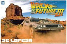 Ritorno Al Futuro 3 - Back To The Future III De Lorean Delorean Plastic Kit 1:24