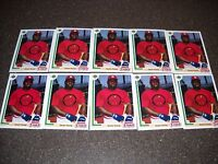Lot of (10) 1991 Upper Deck Final Edition #7F Dmitri Young RC Rookie Cards