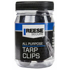 Reese Secure Black All Purpose Tarp Clips 4 Pack