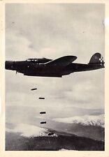 1116) AVIAZIONE, SGANCIO DELLE BOMBE DI UN ALCIONE, BOMBARDIERE CANT Z. 1007.