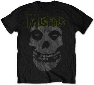 MISFITS Classic Vintage Skull T-SHIRT OFFICIAL MERCHANDISE