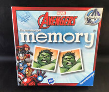 RAVENSBURGER MARVEL AVENGERS MEMORY GAME PICTURE PAIRS MATCH - EXCELLENT