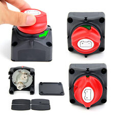 Battery Isolator Switch Cut Off Disconnect Power Kill 600A Key Car Van Boat New