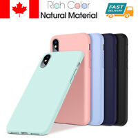 For Apple iPhone 11 Pro XR XS Case Genuine Cleanable Silicone Liquid Case Cover