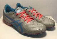 Asics Womens Size 7 Hyper Rocket Girl 7 Track & Field Shoes Grey Blue Shoes