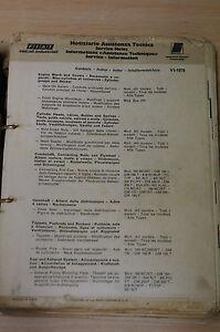 Fiat Service Information Manual