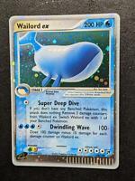 100/100   Wailord ex HOLO   EX Sandstorm   Pokemon Card   Near Mint