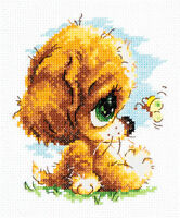 Cross Stitch Kit Cute dog art. 16-14