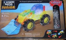 Construction Laser Pegs Junior Lighted Construction Building Toy ZD005 Ages 4-7