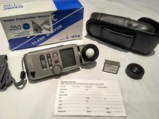 Sekonic L-358 Flash Master with RT-32 Radio Transmitter and Two Batteries