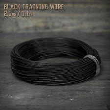 American Bonsai Black Aluminum Training Wire - 2.5mm - 1 kilogram - 255 ft - 1k