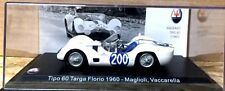 MASERATI Tipo 60 Targa Florio 1960 Maglioli, Vaccarella scala 143 n 056