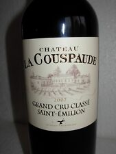 CHATEAU LA COUSPAUDE 2007 - SAINT EMILION -  GRAND CRU CLASSE