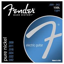 Fender 150L Original Pure Nickel Light Blues Jazz Electric Guitar Strings 9-42