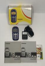 Siemens A56 Cingular Mobile Cellular Cell Phone Blue Mint