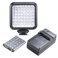 Bestlight Video Light 36 LED Rechargeable Battery for DV Canon Nikon DSLR Camera