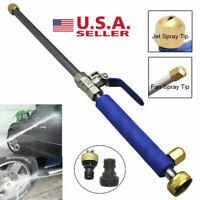 High Pressure Washer Spray Gun Hose Power Water Garden Nozzle Wand Attachment