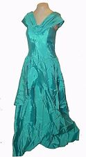 Vintage 1960's, Dance Allure of Alfred Angelo, Formal Ball Gown Dress Blue, 5/6