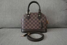 Sale! New Authentic 2019 Louis Vuitton LV Bag Damier Alma BB Ebene