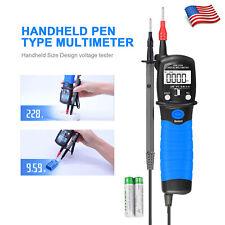 Digital Multimeter Pen Type Meter Dc Ac Voltage Ohmmeter Continuity Tester Tool