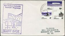 Cover SCOTT BASE TO VANCOUVER, BC 1979 NEW ZEALAND ANTARTIC RESEARCH